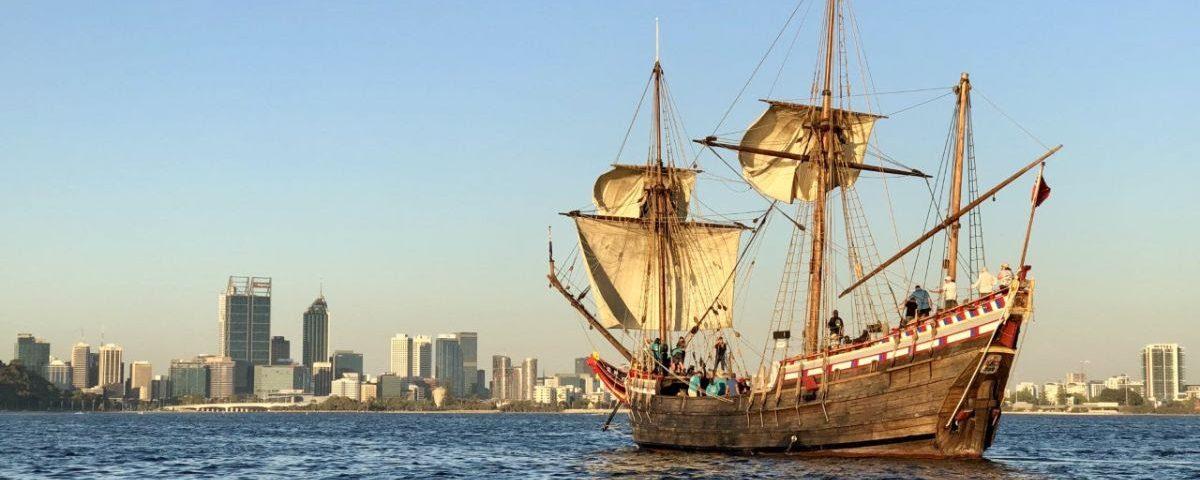 Duyfken Sailing
